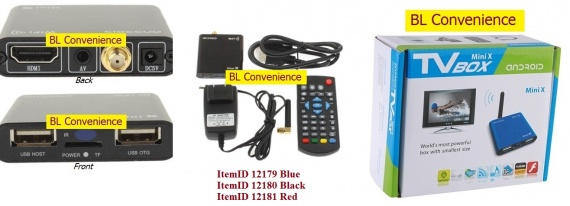 interfaces TV Box H24